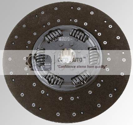 Clutch Disc 1878003647 / 1878 003 647 DAF G430D025